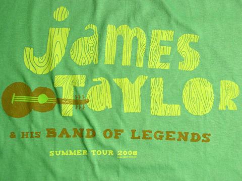 James Taylor Tour T Shirts